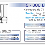 corredera 70x30